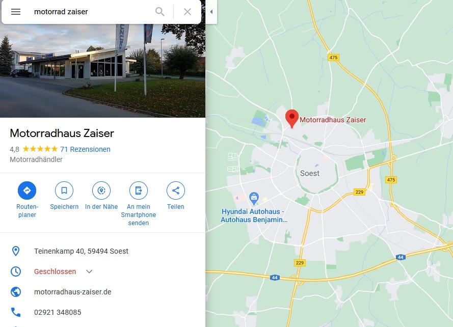 Motorradhaus Zaiser - Google Maps-2021